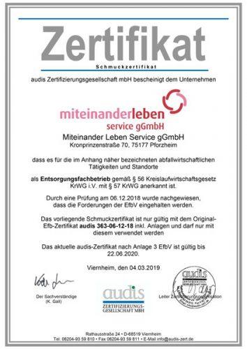 MiteinanderLeben-Schmuck-Zertifikat_2018_2